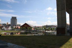 Badedammen, Stavanger