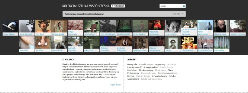 The Collection of Contemporary Art for the National Audiovisual Institute (2013)